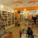 Interno della libreria Pel di Carota
