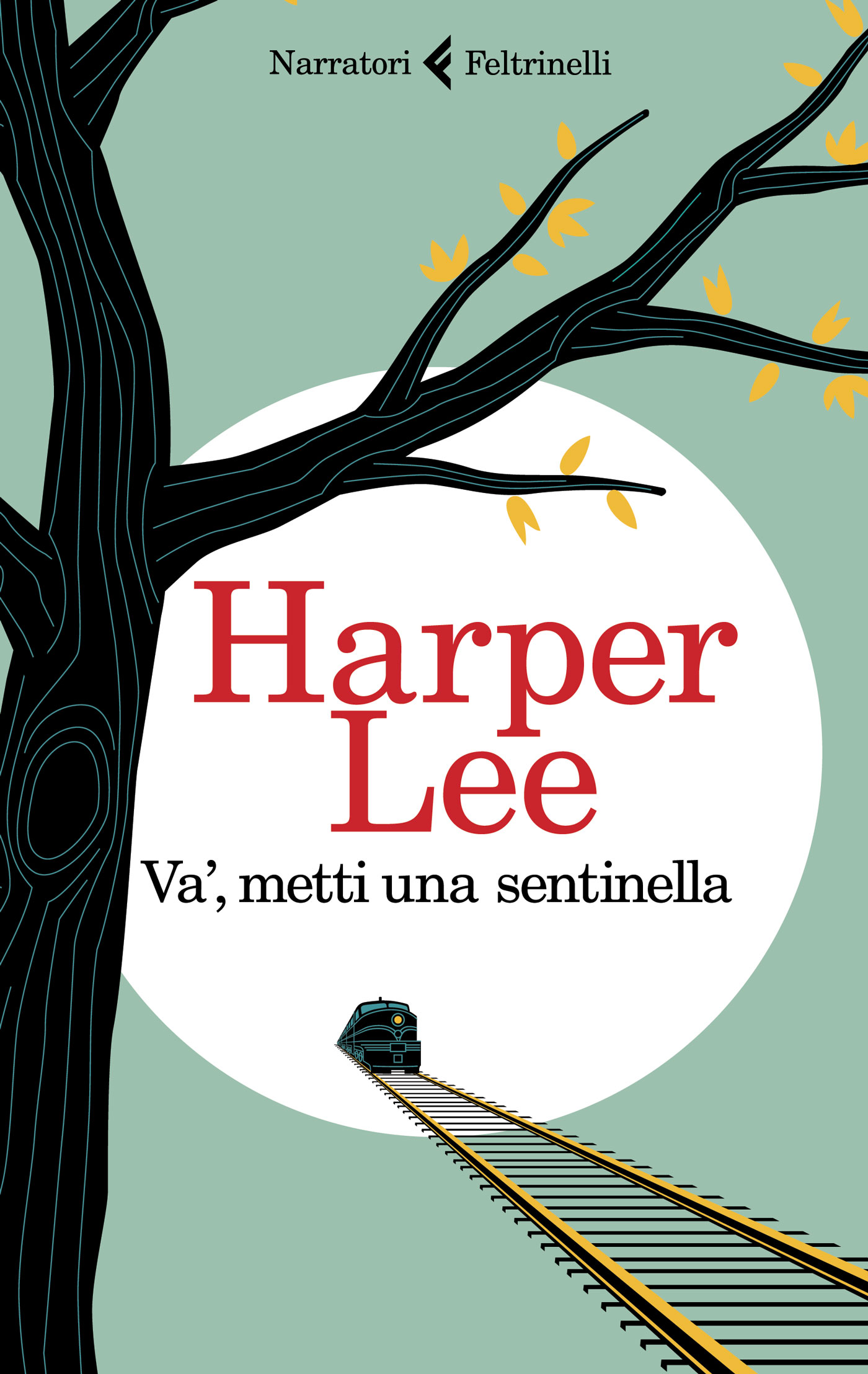La copertina dell'edizione italiana che uscirà per Feltrinelli a novembre